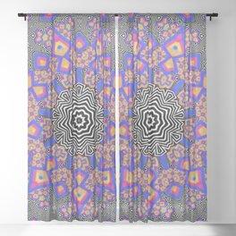 Mo-psyco Mandala No.1 Sheer Curtain