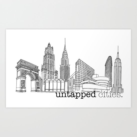 Untapped Cities Art Print