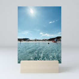 Sardinia Beach, Marinella   Summer in Italy   Italian Coast   Beach Photography Print Poster Mini Art Print