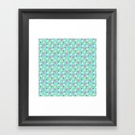 Party stars Framed Art Print