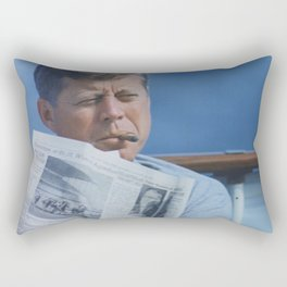 JFK SMOKING Rectangular Pillow