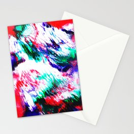 Colorful Fluctuation Stationery Cards