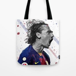 Griezmann Football Print Football Wall Art Football Poster Football Wall Decor Poster Tote Bag