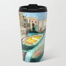 Three Boats Venice Metal Travel Mug
