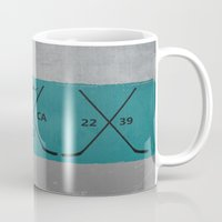 sharks Mugs featuring Sharks by Last Call