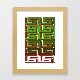 lavirint Framed Art Print