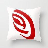 erotic Throw Pillows featuring Erotic Symbolism by IZ-Design