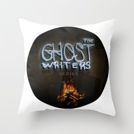 The Ghost Writers Series Logo 2 Throw Pillow