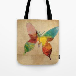 Butterfly Abstract Tote Bag