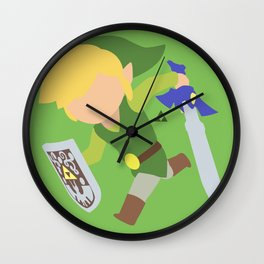 Toon Link(Smash) Wall Clock