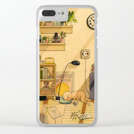 Born to be Mild Clear iPhone Case