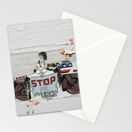 Stop For Church Stationery Cards