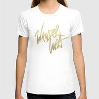 wanderlust T-shirts featuring Wanderlust by Tamsin Lucie