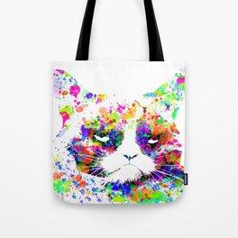 A grumpy pussy cat Tote Bag