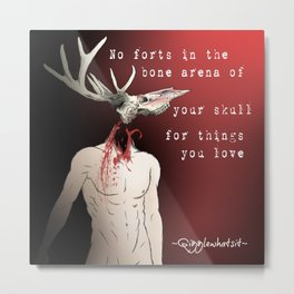 Bone Arena Metal Print