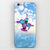 tits iPhone & iPod Skins featuring Beautiful Space Tits by HiddenStash Art