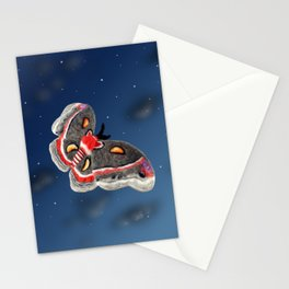 Fluttering Cecropia Stationery Cards