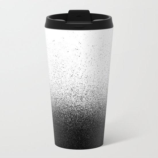 DUST / black Metal Travel Mug