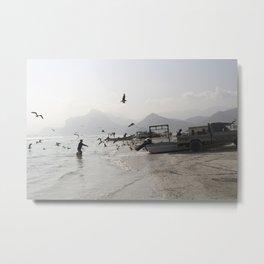 Mughsail Beach, Oman Metal Print