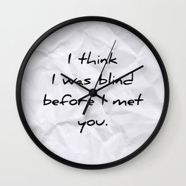 First Day of My Life Wall Clock
