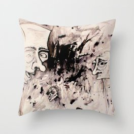 Chaos Shows Details Throw Pillow