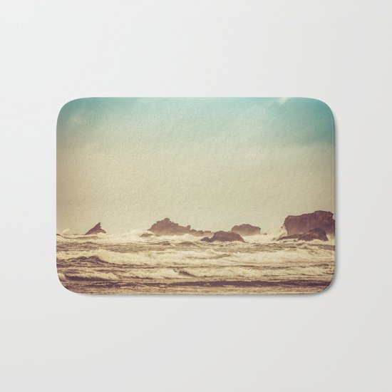 Crashing Waves Bath Mat