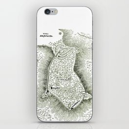 Earthworks at Fort Hill iPhone Skin
