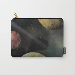 Planets in Space - Spray Paint Art Carry-All Pouch