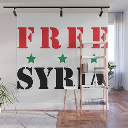 FREE SYRIA Wall Mural