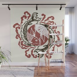 Koi Wall Mural
