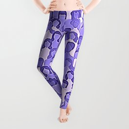 Together Strong - Women Power Purple Leggings