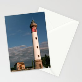 Lighthouse at Ouistreham Stationery Cards