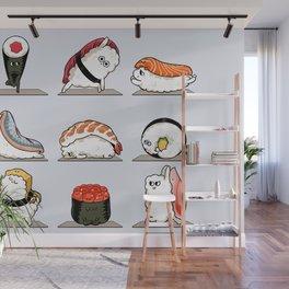 Sushi Yoga Wall Mural