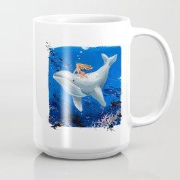 A Girl & Her Whale Coffee Mug