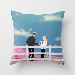 rewritten Throw Pillow