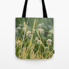 Dusk in the Field Tote Bag