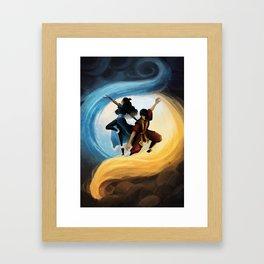 Zutara: Elements Framed Art Print