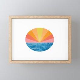 Sunset Framed Mini Art Print