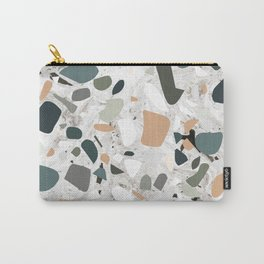 Terrazzo and Marble Carry-All Pouch