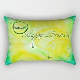 Zodiac sign Taurus - Happy Birthday 2 Rectangular Pillow