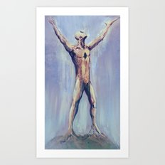 Take the Holy Ground With You Art Print