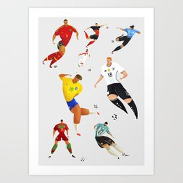World Cup 2018 Art Print
