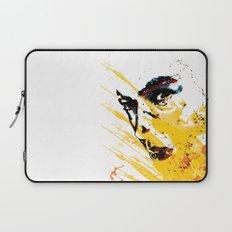 Street art yellow painting colors fashion Jacob's Paris Laptop Sleeve