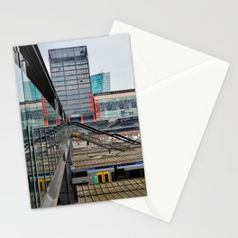 Lille train station Stationery Cards