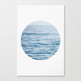 Oblò: Oh, the Sea! Canvas Print