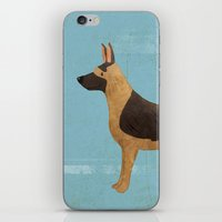 german iPhone & iPod Skins featuring German Shepherd by 52 Dogs