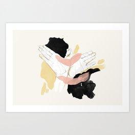 Flume Art Print