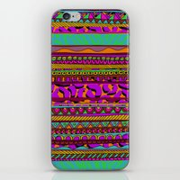 tribal iPhone & iPod Skins featuring Tribal by Aimee St Hill