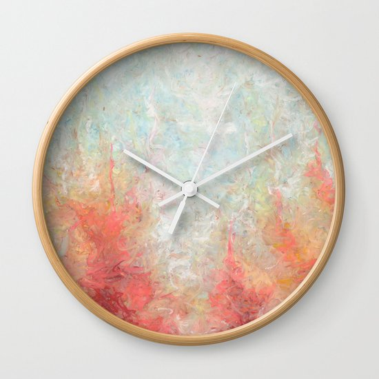 With My Own Eyes Wall Clock