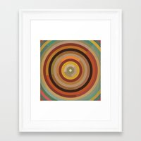 mod Framed Art Prints featuring Mod  by Lori Wemple
